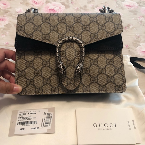 Gucci Handbags - Gucci Dionysus GG Supreme Mini Bag